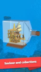 Idle Arks: Build at Sea MOD APK 2.1.1 [Unlimited Wood + Diamonds] 5