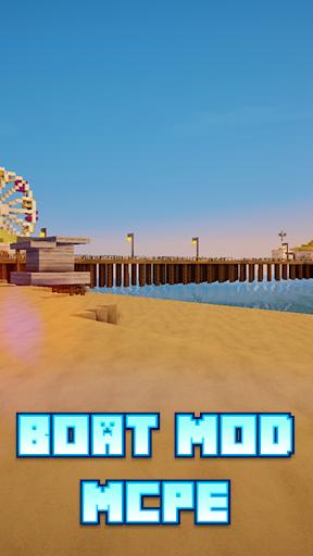 Boat Mod For MCPE*