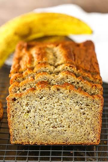 Easiest Ever Banana Bread- The Best Moist Banana Bread Recipe!