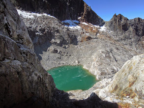 Photo: Tarn below Pico Bonpland