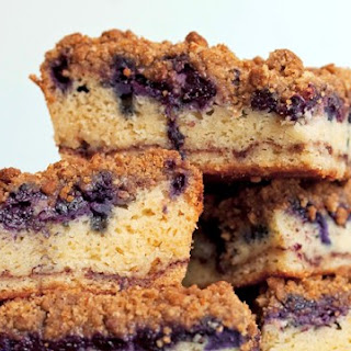 Old-Fashioned Blueberry Coffee Cake Recipe