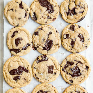 The Best Tahini Chocolate Chip Cookies In The World.