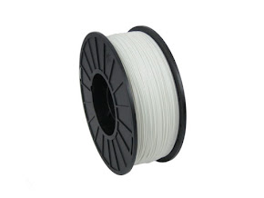 White PRO Series ABS Filament - 1.75mm (1kg)