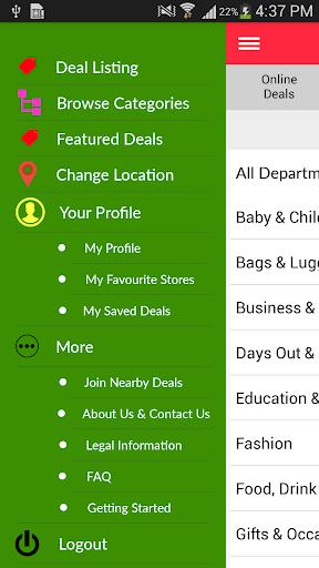 Nearby Deals Deal Finder