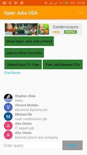 Open Jobs Canada - náhled