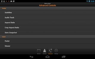 Screenshot of VLC Remote