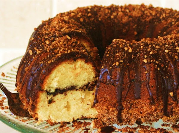 Chocolate Frangelico Coffee Cake With Pecans Recipe