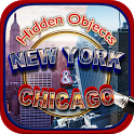 Hidden Object New York City & Chicago Objects Game icon