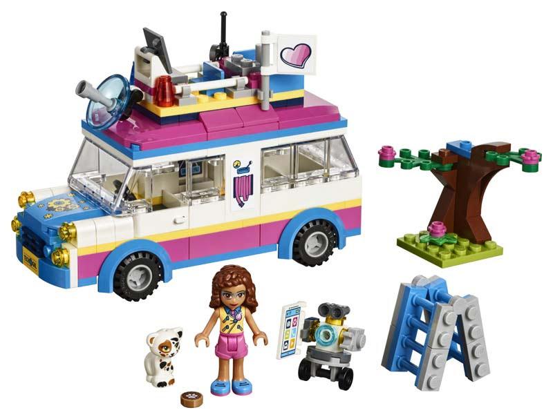 Contenido de Lego® 41333 Vehículo de Operaciones de Olivia