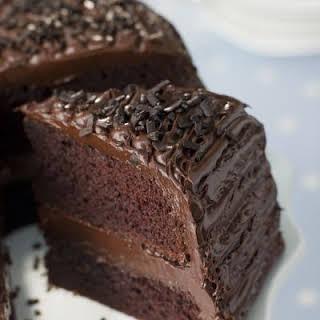 Crockpot Chocolate Cake.