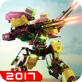 Robot War Mech Warrior 2017