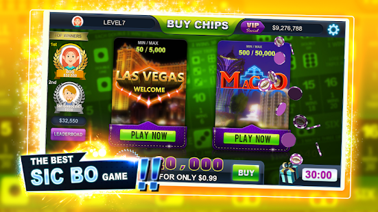 online casino welcome bonus sic bo