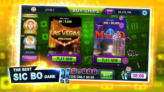 free online casino slot sic bo