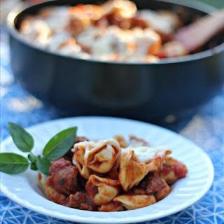 Tortellini and Sausage Skillet.