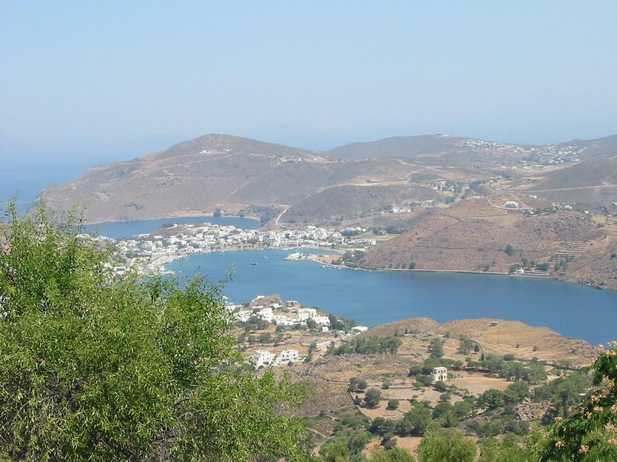 The Island of Patmos and the Aegean Sea