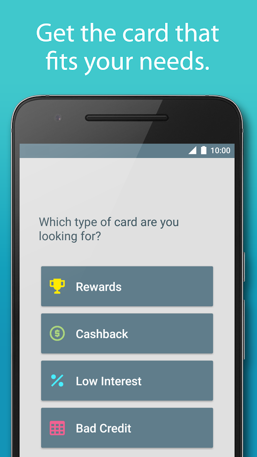 Compare Credit Cards by Silver- screenshot