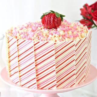 Strawberries and Cream Layer Cake Recipe