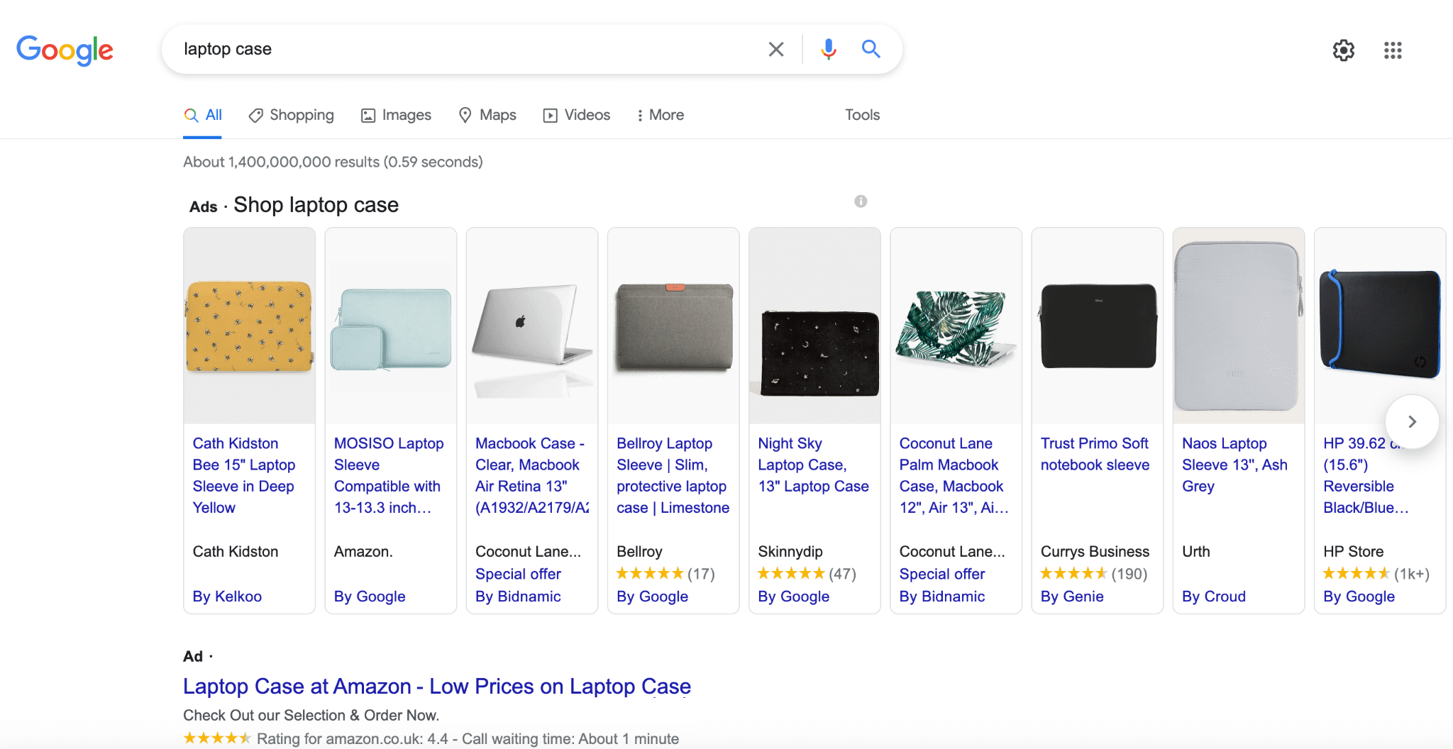 Google image of Native ads as part of digital advertising trends