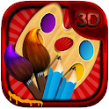 Kids Colouring ♛ Painting Fun icon