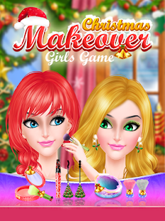 Christmas Makeover Girls Game- screenshot thumbnail