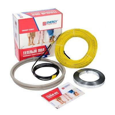 Нагревательный кабель Energy Теплый пол energy кабель 600 вт (energy кабель 600 ВТ)