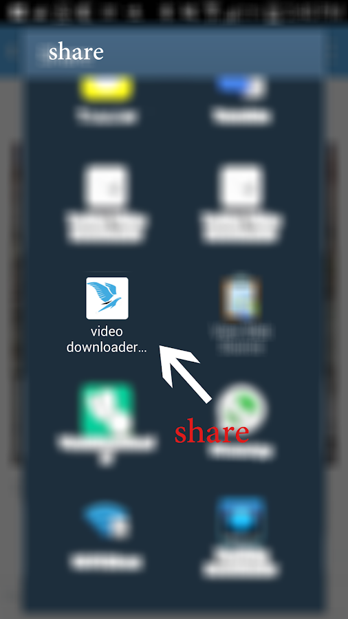 Video downloader tweet- screenshot