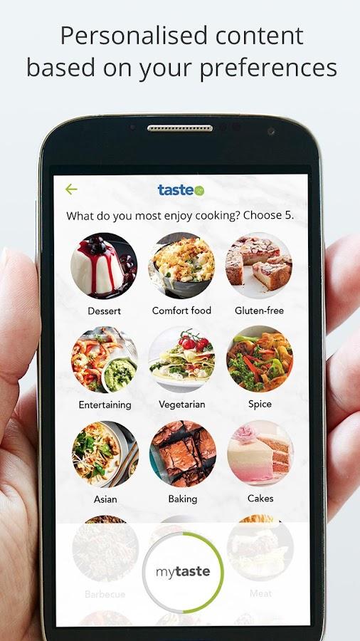 اكثر من 40 الف وصفة طبخ مجربة مع تطبيق taste.com.au