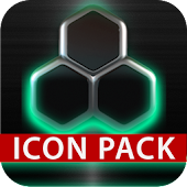 GLOW MINT icon pack HD 3D