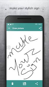Signature Maker Digital App screenshot 1