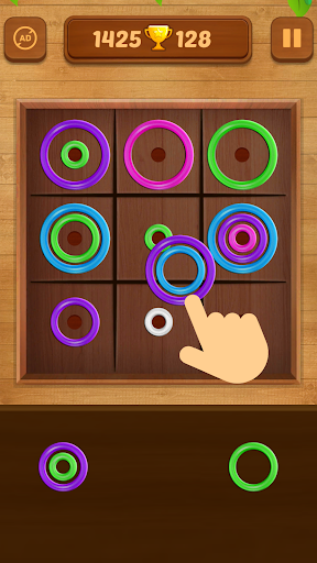 Color Rings - Colorful Puzzle Game 2.8 screenshots 1