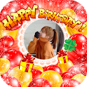 Happy Birthday Photo Editor icon
