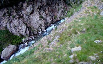 Photo: Profundidad del río.