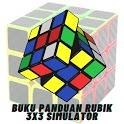 Buku Panduan toy 3x3 Simulator icon