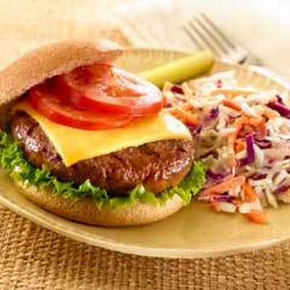 Cheeseburgers with Coleslaw Recipe