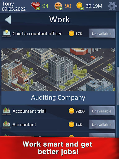Hit The Bank: Life Simulator  screenshots 4