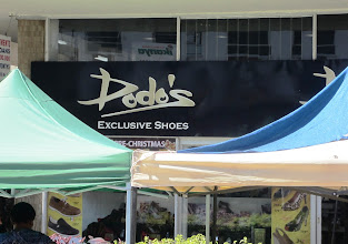 Photo: A shoe shop for Mma Makutsi to visit on the Gaborone Main Mall