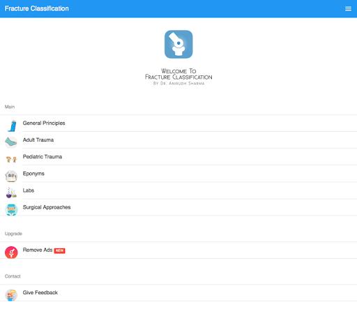 玩免費醫療APP|下載Fracture Classification app不用錢|硬是要APP