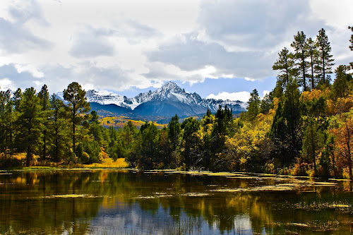 Mt. Sneffles by David Short - Landscapes Mountains & Hills ( mountain, color, fall, colorado, sneffles )