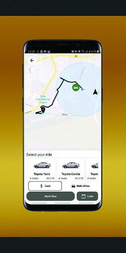 Hello Taxi Passenger ET screenshot 3