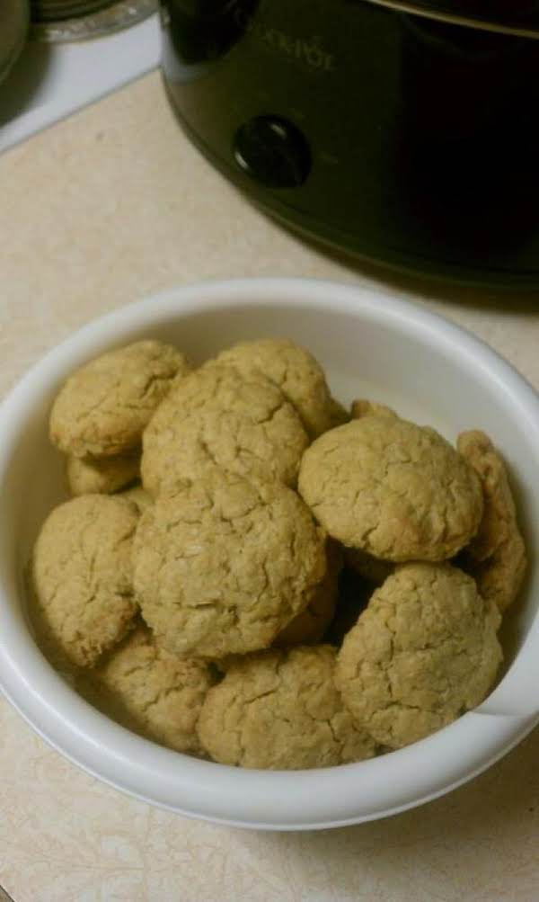 Vanilla Oatmeal Pudding Cookies