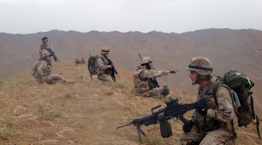 Historia de ocho despliegues legionarios en el conflicto afgano