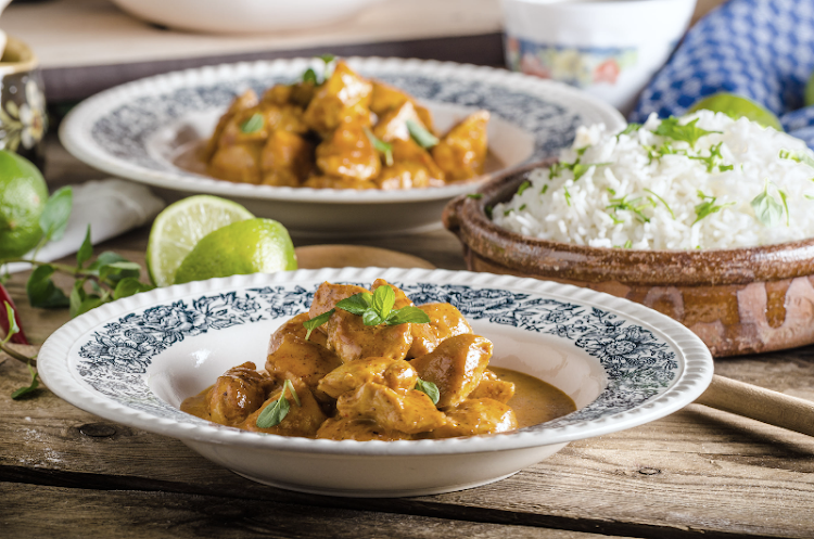 Chicken korma.