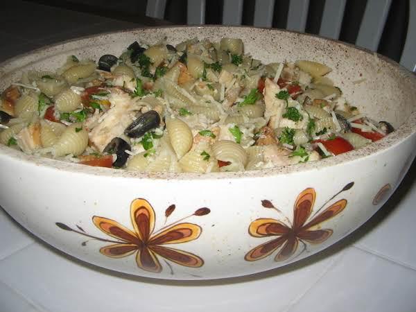 Pasta Salad With Artichokes And Tuna (or Chicken) Recipe