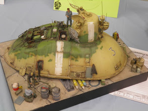 Photo: This 35th scale Nutrocker diorama was done by the same guy converting the other kit.