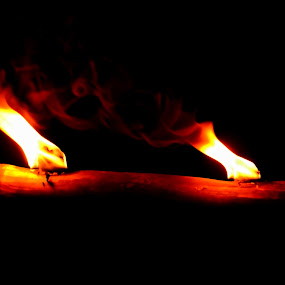 Bamboo Fire by Aditya Krista - Artistic Objects Other Objects ( pwcfire )