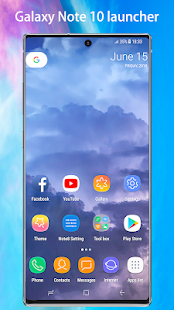Note10 Launcher -Galaxy Note8/Note9/Note10 launche Screenshot