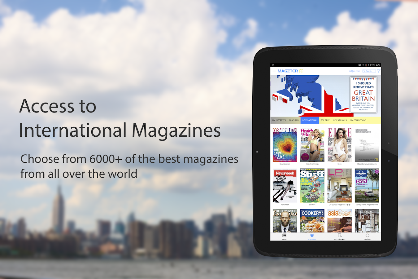 Magzter - News and Magazines- screenshot