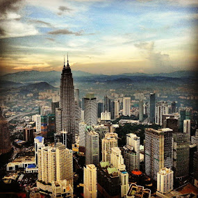 KL cityscape by Franco van Vuuren - Instagram & Mobile Android
