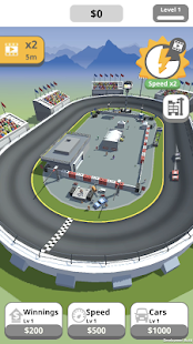 Idle Race Track Screenshot