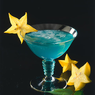 Curaçao Blue Cocktail.